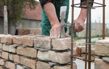 réalisation de muret en pierre